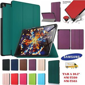 Magnetic Smart Stand Case Cover For Samsung Galaxy Tab A 10.1 T510 T515 2019