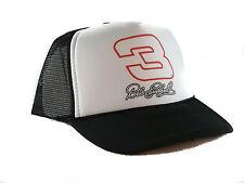 Vintage Dale Earnhardt #3 Trucker Hat Nascar hat mesh hat snapback hat black new