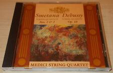 SMETANA/DEBUSSY-STRING QUARTETS-UK NIMBUS CD 1995-MEDICI STRING QUARTET-RARE