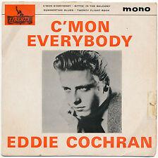"7"" EP - Eddie Cochran - C´Mon Everybody - Liberty LEP 2111 - UK 1959"