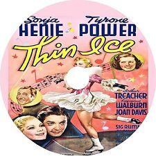 Thin Ice DVD Sonja Henie Tyrone Power V Rare 1937