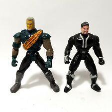 2x Xanatos & Macbeth Gargoyles Action Figure Lot Kenner 1995 Series 1