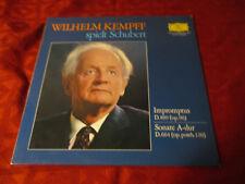 LP WILHELM KEMPFF spielt Schubert 4 Impromptus D 899 Klaviersonate A-dur D 684