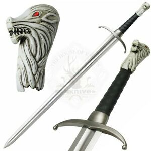 Game Of Thrones Jon Snow 's Sword Long claw Wall decor, BEST Gift for him JW-511