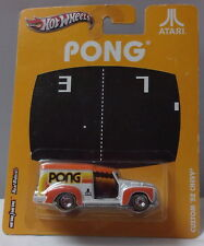 KKar Hot Wheels - 2012 Pop Culture - Atari - '52 Chevy - White & Orange - Pong