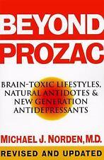Beyond Prozac: Antidotes for Modern Times, Norden, Michael J., 0060987073, Book,