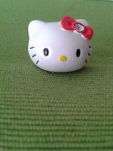 Anello Personaggio Hello Kitty Originale Gadget Idea Regalo da Collezione