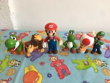 2013 Mcdonalds Mario Luigi Donkey Kong Figures 2009 Nintendo x 6