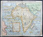 1588 Munster Antique Map of Africa