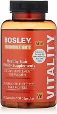 Professional Strength Hair Supplement for Women, Bosley, 60 capsule