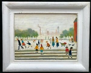 1960s Manchester / Northern Park Social -- Laurence Stephen LOWRY 1887 - 1976