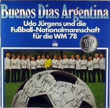 BUENOS DIAS ARGENTINA '78 UDO JURGENS FIFA WORLD CUP VINYL LP STEREO © 1978