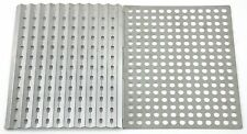 Outdoor Camp Cook Grill Grates BBQ Sheet Rack Stainless Steel Dual Side Reusable