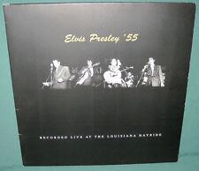 Elvis Presley Recorded Live Louisiana Hayride '55 LP Italy NM 1999