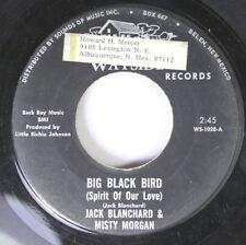 Rock 45 Jack Blanchard And Misty Morgan - Big Black Bird / The Autumn Song On Wa