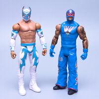 2012 Mattel WWE Battle Pack 22 SIN CARA & REY MYSTERIO Wrestling Figures   Nice