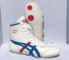 Leather Onitsuka Tiger 81 Wrestling Shoes (2010) Size 7 Red White Blue ASICS