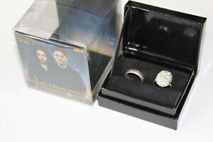 Twilight Rare 2012 Breaking Dawn Bella's Engagement Wedding Band Ring Set Size 7