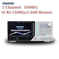 HANTEK HDG2102B 100MHZ Function Arbitrary Waveform Generator 2CH 250MSa Signal