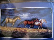 Counted Cross Dimensions GOLD COLLECTION PICTURE KIT,THUNDER RIDGE,Horses,3853