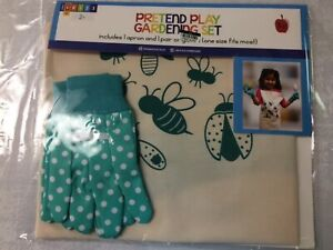Pretend Play Gardening Set 1 Apron & 1 Pair of Gloves One size fits most Age 2+