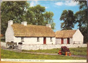 Irish PC LOOPHEAD Farm House Bunratty Folk Pk Clare Ireland Beer John Hinde 352