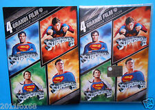 superman collection box 4 dvd's christopher reeve marlon brando richard pryor id
