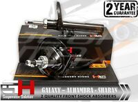 2 FRONT OIL SHOCK ABSORBERS FORD GALAXY, SEAT ALHAMBRA, VW SHARAN/GH-322506K