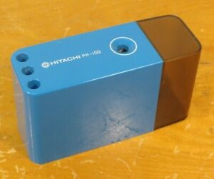 Vintage Hitachi PH-100 101 Pencil Sharpener Battery Operated Electric WORKS! VGC