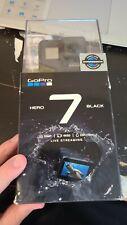 GoPro HERO7 Black 12 MP Waterproof 4K Camera Camcorder open box