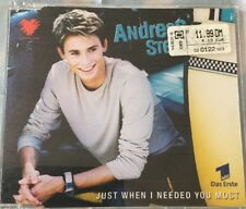 Maxi-CD Andreas Stenschke - Just when i needed you most (2000) 4 Lieder