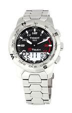 Armbanduhren mit Edelstahl-Armband und Timer für Erwachsene