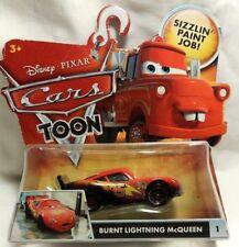 CARS - BURNT LIGHTNING MCQUEEN Toon Mattel Disney Pixar