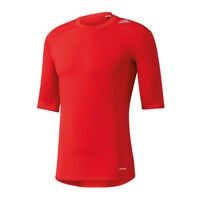 Adidas Tech Fit Base tee t-shirt à manches courtes rouge