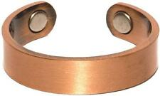 SOLID COPPER RING W MAGNETS STYLE JL581P mens womens jewelry magnetic pain new