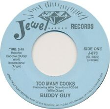 BUDDY GUY / JESSE FORTUNE 2 Artist BLUES 45 rpm NM Too Many Cooks