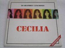 CECILIA 2 LP´S 20 GRANDES CANCIONES SPANISH ORIGINAL ISSUE GATEFOLD COVER