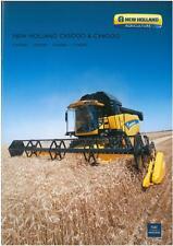 NEW HOLLAND COMBINE - CX5080 CX5090 CX6080 CX6090 BROCHURE - BX105