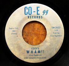 CHICAGO JAZZ 45: COZY EGGLESTON QUARTET - Cozy's WHAM!!/Moon Ray – Co-Egg