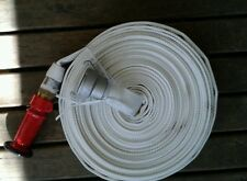 Fire hose CRUSADER HOSE kit 25mm hose x 20m with nozzle and wajax coupling