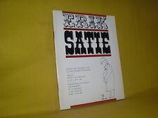 Erik Satie catalogue exposition de la bibliothèque nationale 1966 Henri Sauguet