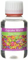 Cupcake World Elderflower Intense Food Flavouring Concentrates Vape 100 ml