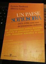 un paese sottosopra-1973-1996-una voce del femminismo italiano-letizia paolozzi