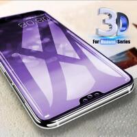 Full Coverage Tempered Glass Screen Protector For Huawei P20 Pro / Lite Nova 3e