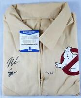 "NOAH SCHNAPP ""WILL"" SIGNED GHOSTBUSTERS UNIFORM STRANGER THINGS BAS COA 789"