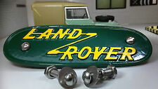 Land Rover Early 1948-52 Series 1 Cast Aluminium Grill/Grille Tub Badge Replica