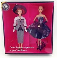Barbie Gala Tribute Gift Set 2 Dolls 50th Anniversary Carol Spencer Matt signed