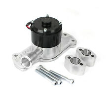 Chevy SBC 350 35+ Gpm Slimline Electric Water Pump Polished