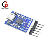 2pcs MICRO USB to UART TTL Module 6Pin Serial Converter CP2102 STC Replace FT232