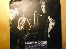 """GARY MOORE - oh pretty woman / king of the blues  SINGLE 7"""""""